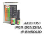 additivi per benzina e gasolio