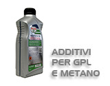 Additivi per GPL e metano
